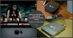 Apple Tv Control Del Sistema De Automatización Del Hogar