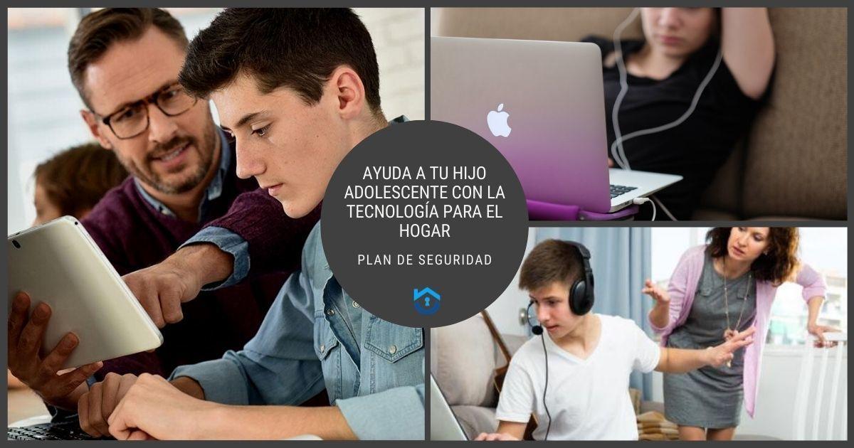 Ayuda A Tu Hijo Adolescente Con La Tecnología Inteligente Para El Hogar