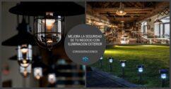 Mejora La Seguridad De Tu Negocio Con Iluminación Exterior