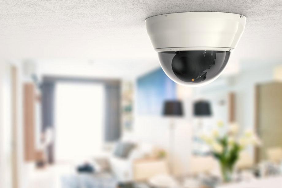 Vigilancia robótica de seguridad en casa